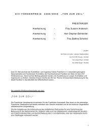 AIV-Laudatio-2009 Web.pdf - Architekten- und Ingenieur Verein ...