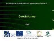 Darwinismus - Projekt EU