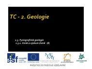 Vznik a výzkum Země - Projekt EU