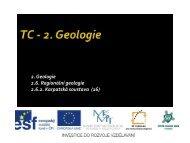 Karpatská soustava - Projekt EU