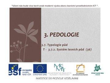 System lesních půd - Projekt EU