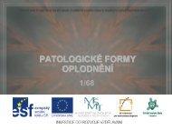 Patologické formy oplodnění - Projekt EU