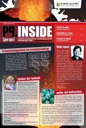 krisenmanagement im eventmarketing liebe leser ... - Projekt Quartett