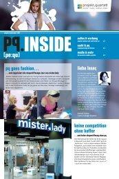 liebe leser, pq goes fashion… keine competition ... - Projekt Quartett