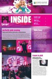 liebe leser, perfectly pink evening traum in pink - Projekt Quartett
