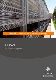 LINEAR – Geradlinig in Funktion und Design LINEAR - Projekt w