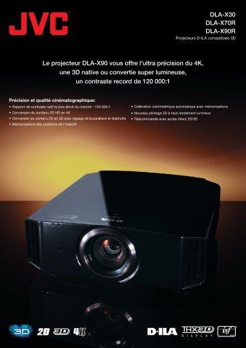 DLA-X30 DLA-X70R DLA-X90R Le projecteur DLA-X90 vous offre l ...