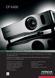 CP-X400 - Projektoren Datenbank