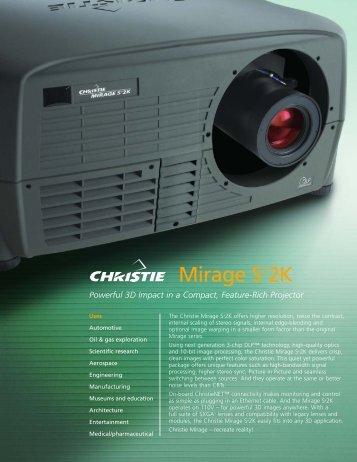 CHRI1092 DS+4K DS.qxd - Projektoren Datenbank