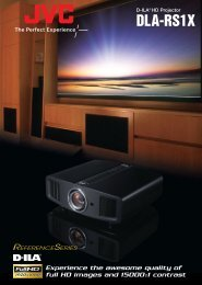 DLA-RS1X - LCD and DLP Projectors
