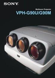 VPH-G90U/M cat. - Index of