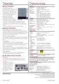 LCD Data Projector VPL-SC60 - HCinema - Page 2