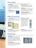 Product Sheet - LCD and DLP Projectors - Page 4