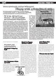 grünes blatt 1/2011 (S. 16ff) - Projektwerkstatt