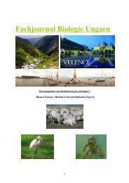 Fachjournal Biologie Ungarn - projektXchange