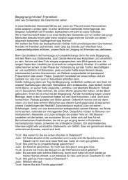 Juan Garcia Herreros in Harmannsdorf - projektXchange