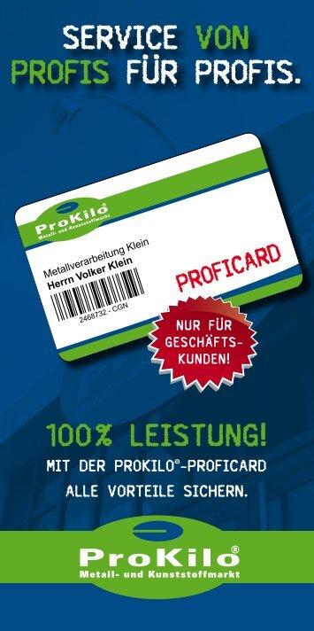 service von Profis für Profis. - ProKilo