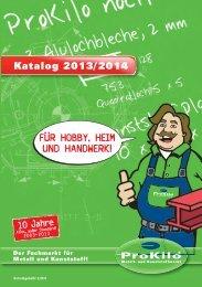 für hobby, heim und handwerk! - ProKilo
