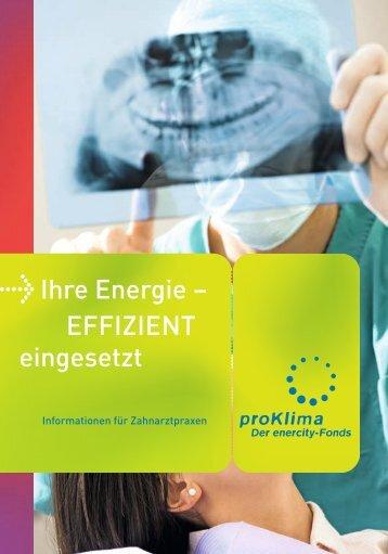 Zahnarztpraxen - proKlima Hannover