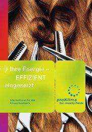 Friseurhandwerk - proKlima Hannover