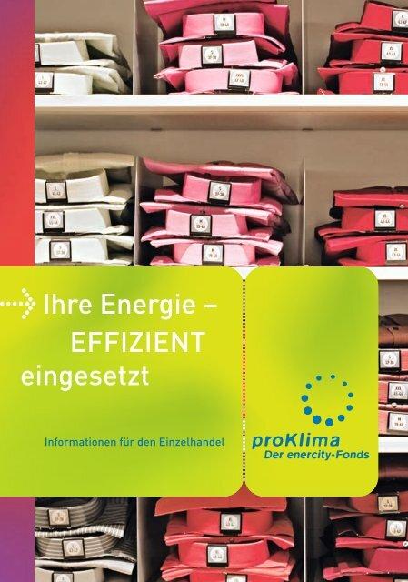 Einzelhandel - proKlima Hannover