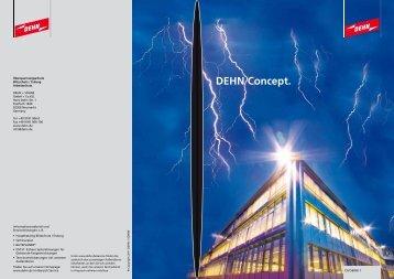 DEHN Concept. - Dehn + Söhne Blitzschutzsysteme