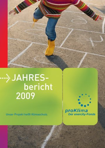 Jahresbericht 2009 - proKlima Hannover
