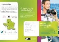 Mit dem Energielotsen effizient zum Ziel - proKlima Hannover