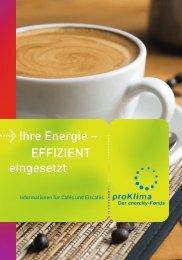 Cafe und Eiscafe - proKlima Hannover