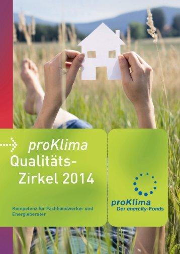 Weiterbildungsoffensive für den Mittelstand (WOM) - proKlima ...
