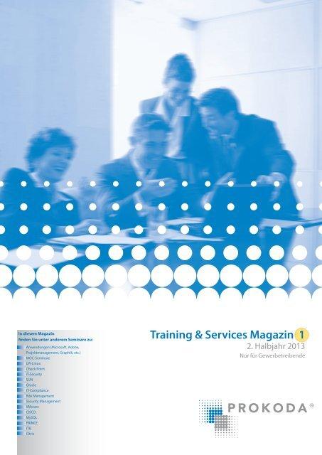 Training & Services Magazin 2/2013 - Prokoda