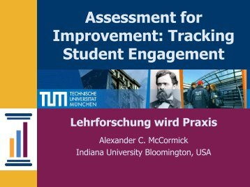 The National Survey of Student Engagement - ProLehre