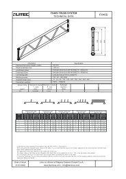 Tehnički podaci PDF (254,3 kB) - Prolight