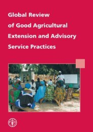 Global Review of Good Agriculture Extension and Advisory - FAO.org