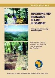 Traditions and innovation in land husbandry - Prolinnova