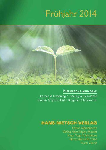 Frühjahr 2014 - Prolit Verlagsauslieferung GmbH
