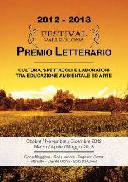 Libretto_Festival_ValleOlona_ 2012.pdf - CRT - Centro Ricerche ...