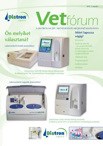 Vetfórum - Diatron