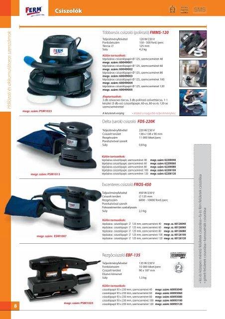 Kézi elektromos gépek és tartozékok 3-20 (2 MB ... - Proma-group.com