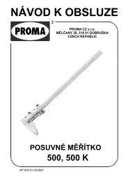 posuvné měřítko500 - Proma-group.com