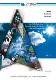 Technik für Mensch und Umwelt 2011 / 12 - AFRISO-EURO-INDEX ...
