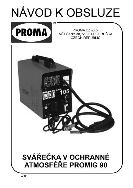 PROMIG-90 - Proma-group.com