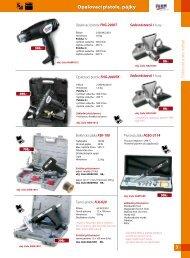 Opalovací pistole, pájky - Proma-group.com