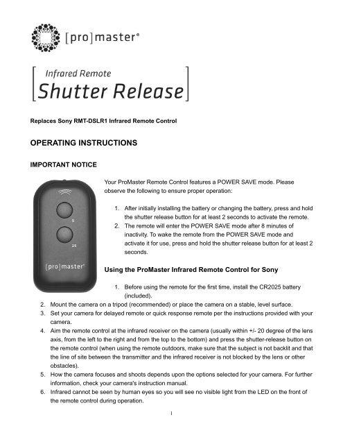Digital Camera Accessories Electronics ghdonat.com Promaster 20 ...