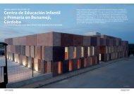 Centro de Educación Infantil y Primaria en Benamejí ... - Promateriales
