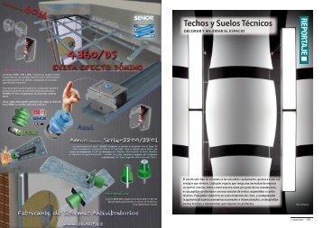 Techos y Suelos Técnicos - Promateriales