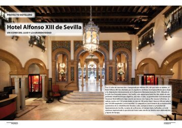 Hotel Alfonso XIII de Sevilla - Promateriales