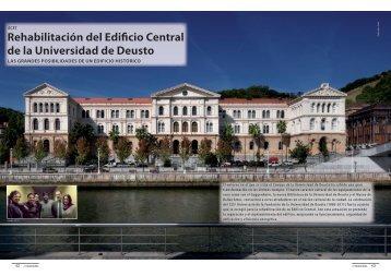 Rehabilitación del Edificio Central de la Universidad ... - Promateriales