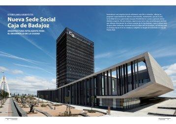 Nueva Sede Social Caja de Badajoz - Promateriales