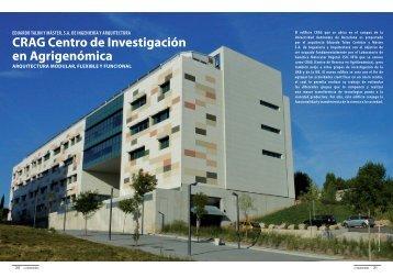 CRAG Centro de Investigación en Agrigenómica - Promateriales